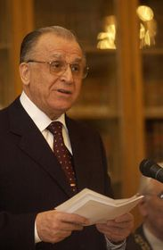 President of Romania Ion Iliescu, photo: CTK