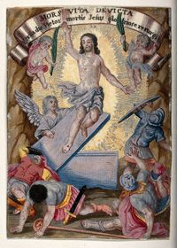 Resurrection, source: Wellcome Collection gallery, Wikimedia Commons, CC BY 4.0
