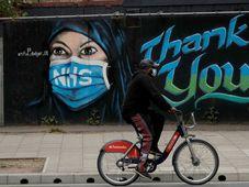 Na Spojené království dolehla koronavirová pandemie velmi těžce, foto: ČTK / AP Photo / Matt Dunham