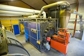 Machinery for biomass treatment, photo: European Commission