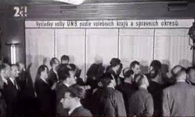 Elecciones de 1946, foto: ČT