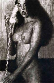 'Chica con telefono II' (2004)