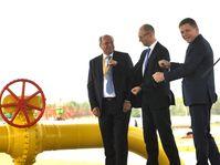 Klaus-Dieter Borchardt, Arsenij Jaceňuk, Robert Fico, photo: CTK
