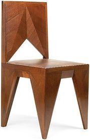 Kubistická židle, ilustrační foto: oficiální stránky Encyklopedie nábytku