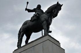Памятник Яну Жижке в Праге, фото: Jolana Nováková, Чешское радио