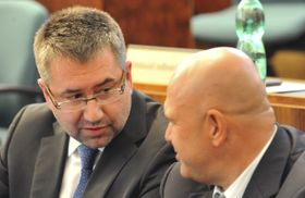 Petr Šafarčík (à gauche), photo: CTK
