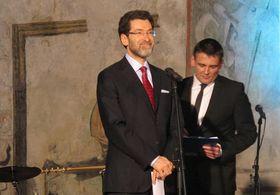 Norman Eisen during the Gypsy Spirit award ceremony in 2013, photo: Kristýna Maková