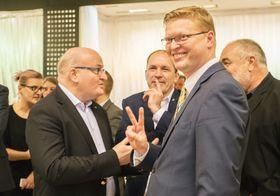 Павел Белобрадек (справа), Фото: ЧТК