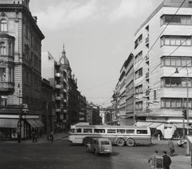 Prague in 1959, photo: FORTEPAN / Kotnyek Antal, CC BY-SA 3.0