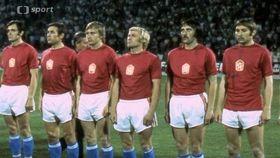 Le footballeurs tchécoslovaques, photo: ČT sport