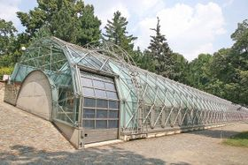 Orangery at Prague Castle by Eva Jiřičná, photo: Prazak, CC 3.0