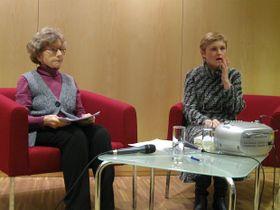 Hedvika Vydrová y Anna Tkáčová