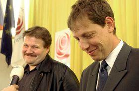 Зденек Шкромах (налево) и Станислав Гросс (Фото: ЧТК)