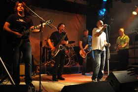 La banda Garáž (Garage), foto: Ben Skála, Wikimedia Creative Commons 3.0