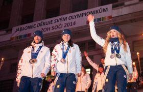 Los deportistas checos, foto: ČTK