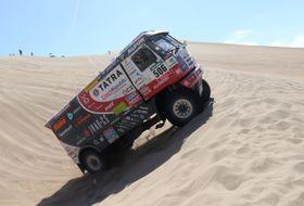 Rallye Dakar, Tatra de Martin Kolomý, photo: ČTK