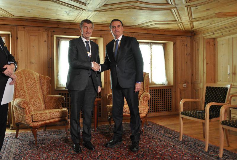 Андрей Бабиш и Жаир Болсонаро, фото: ЧТК / Стржигавка Якуб