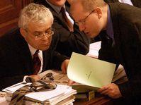Vladmir Spidla and Bohuslav Sobotka, photo: CTK