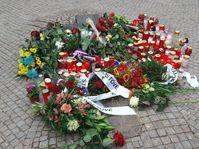 Le monument à Jan Palach près de Musée national, photo: Anna Kubišta