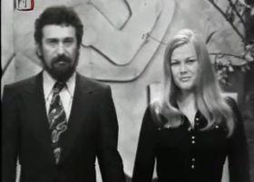 Waldemar Matuška y Eva Pilarová, foto: ČT