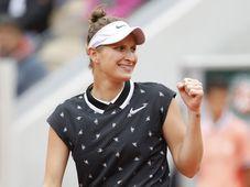 Markéta Vondroušová, photo: ČTK/AP/Jean-Francois Badias