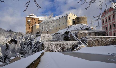 Замок Бечов, фото: LenkaSvasek, Wikimedia Commons, CC BY-SA 4.0