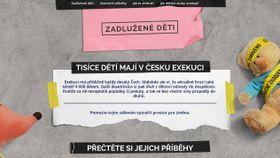 www.zadluzenedeti.cz