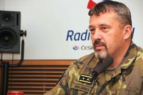 Aleš Opata, foto: Alžběta Švarcová, ČRo