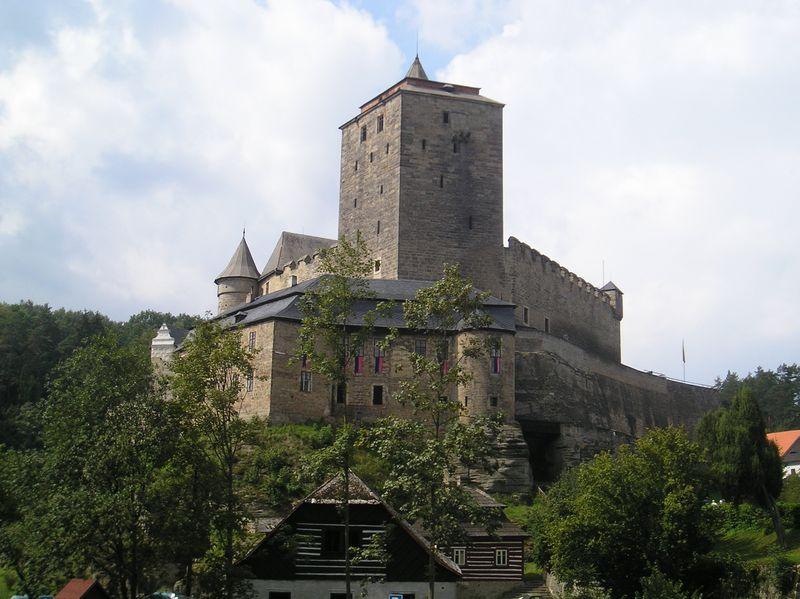 Castillo de Kost, foto: Magdalena Kašubová