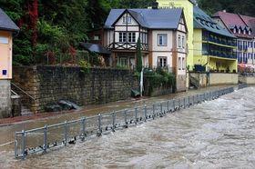 Nuevas inundaciones en Hřensko, foto: ČTK