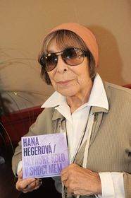 Hana Hegerová avec son nouvel album, photo: CTK