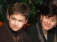 Věra Jakubková (vlevo) a Olga Zubová, foto: ČTK