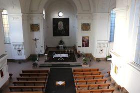 El altar de la Iglesia de San Venceslao en Bohnice, foto: Dominika Bernáthová