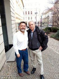 Carlos Pérez y Jesús Inglada, foto: Enrique Molina