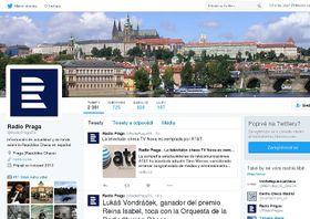 Twitter de Radio Praga