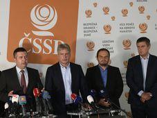Předsednictvo ČSSD, foto: ČTK / Michal Kamaryt