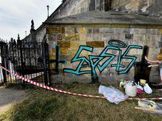 Опора Карлова моста с граффити, фото: ЧТК / Вит Шиманек