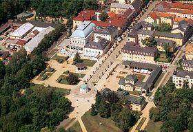 Františkovy Lázně (kolonáda na archivním snímku ze srpna 1999), foto: ČTK