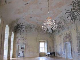 Танцевальный зал замка Небиловы, Фото: Мартина Шнейбергова, Чешское радио - Радио Прага
