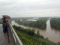 The confluence of Vltava and Labe in Mělník, photo: CTK