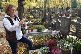 Душички на чешском кладбище, фото: Ева Туречкова