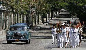 Las Damas de Blanco en La Habana (Foto: CTK)