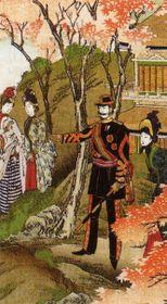 Японский император Мэйдзи,1888 г.
