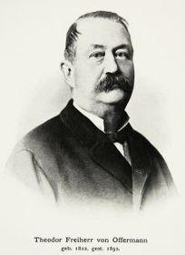 Theodor Offermann (Foto: Archiv der Stadt Brünn)