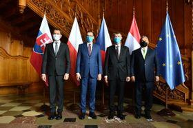 Encuentro del Grupo de Visegrado en Lednice, foto: Archivo de la Oficina de Gobierno de la República Checa