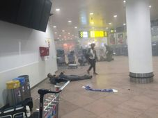 Zaventem Airport in Brussels after the attacks, photo: CTK