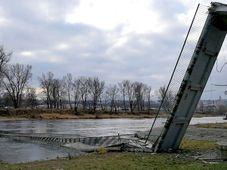 Fußgängersteg über die Moldau ist eingestürzt (Foto: Štěpánka Budková)