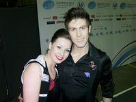 Lucie Myslivečková et Neil Brown, photo: Michal Jurman, ČRo