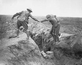 La bataille de Somme, photo: John Warwick Brooke