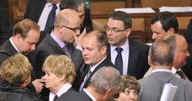 Депутаты ЧСДП (Фото: ЧТК)